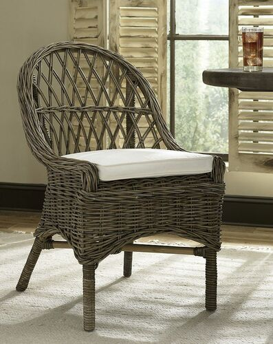 Kubu Cross Weave Dining Chair - Set of 2