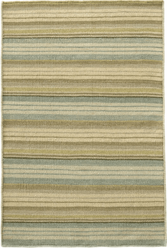 Lake Stripe Woven Wool Rug