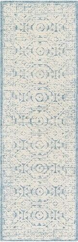 Louvre Ice Blue Hand Tufted Rug