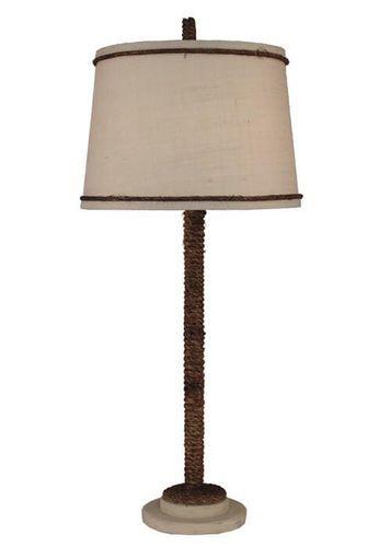 Cottage Manila Rope Table Lamp