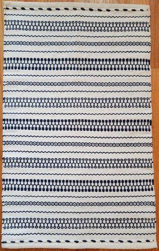Maya Cotton Woven Rug 2x3