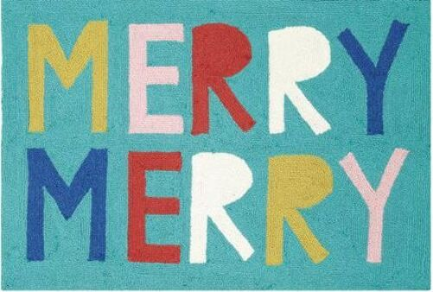 Merry Merry Indoor Christmas Doormat