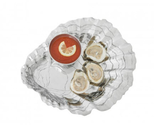 Oyster with Pearl Chip & Dip Set  *Backorder