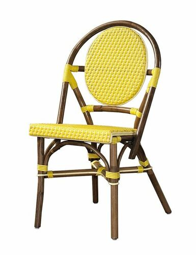 Paris Bistro Chair in Yellow - Set of Two *Backorder