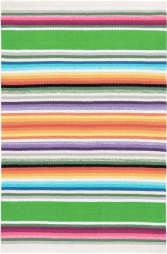 Serape Multi Woven Cotton Rug