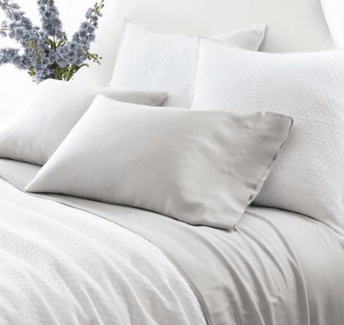Silken Solid Grey Sheet Set