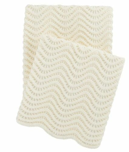 Swell Knit Throw Ivory<font color=cf2317> 20% Off</font>
