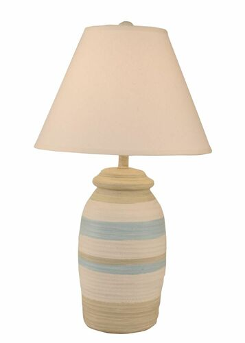 Ocean Spa Ribbed Accent Lamp