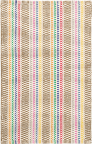 Tempi Stripe Woven Cotton Rug