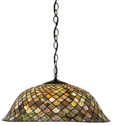 Tiffany Fishscale Pendant Light