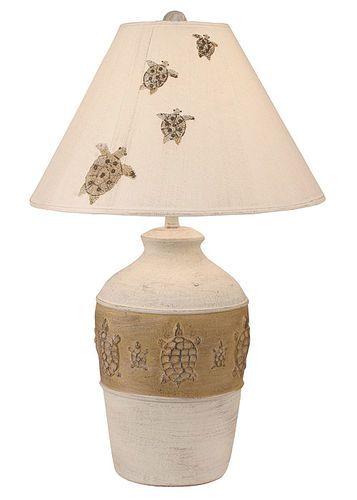Turtle Pot Table Lamp