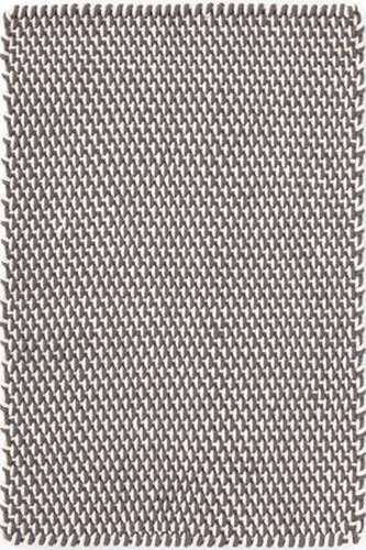 Two Tone Rope Graphite/Ivory Indoor/Outdoor Rug
