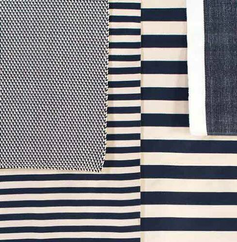 Two Tone Rope Navy/Ivory Indoor/Outdoor Rug