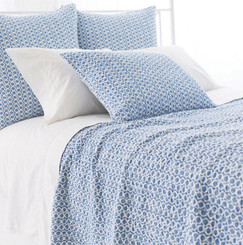 Tyler French Blue Quilt 20% OFF
