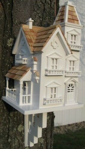 The Victorian Manorhouse Bird Feeder<font color=a8bb35> Back Order</font>