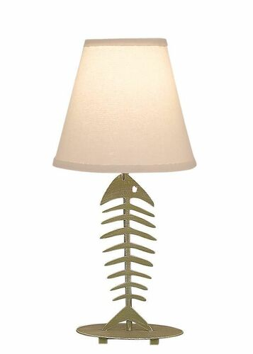 Weathered Lime Bonefish Small Accent Lamp
