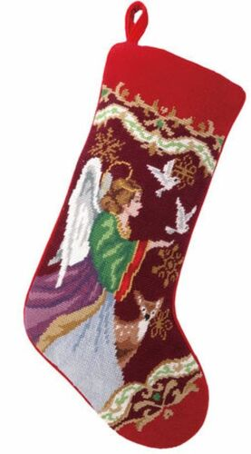 Xmas Angel Stocking<font color =a8bb35> Sold out</font>
