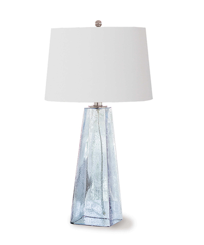 Baha Blue Glass Lamp<font color=a8bb35> Discontinued </font>