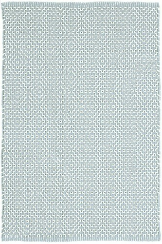 Beatrice Blue Woven Cotton Rug