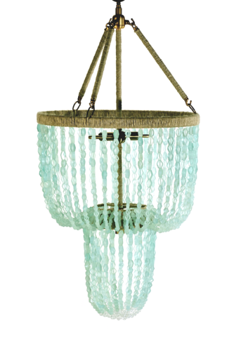 Carmen Recycled Glass Chandelier