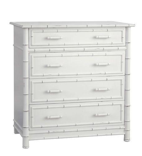 Faux Bamboo Dresser