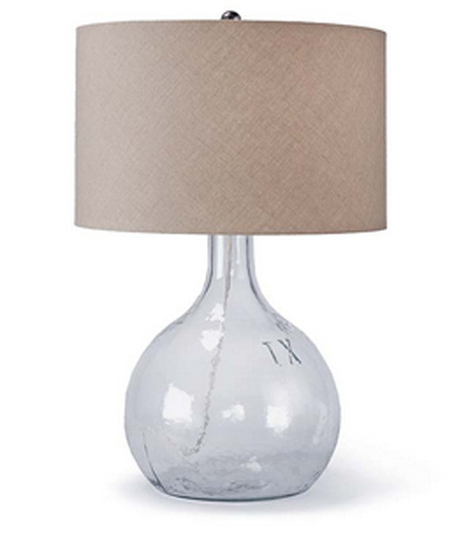King Nine Recycled Glass Lamp