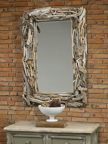 Malibu Driftwood Mirror