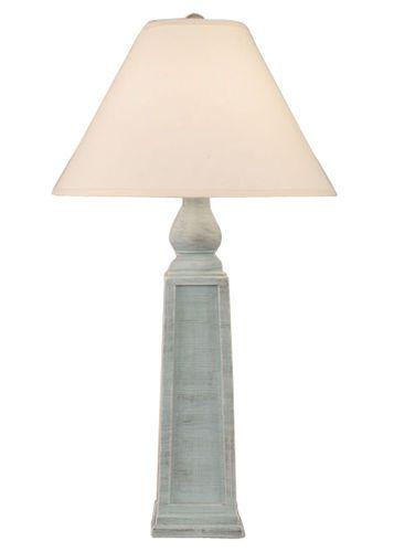 Pyramid Pot Lamp in Atlantic Grey