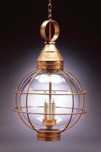 Round Hanging 18 Onion Lantern