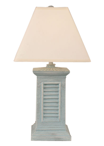 Square Shutter Pot Table Lamp in Blue for Sale [Over 185 ...