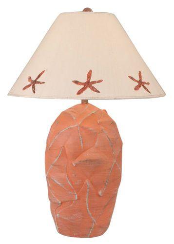 Starfish Pot Table Lamp