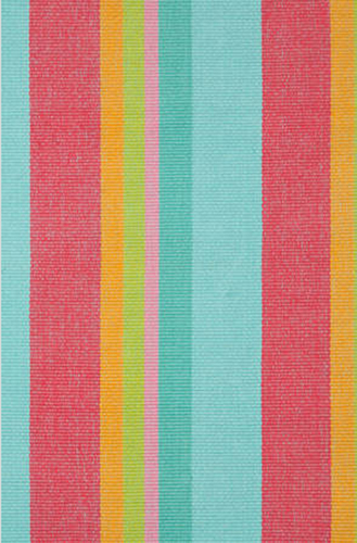 Tiki Stripe Cotton Rug<font color=cf2317> 20% Off</font>