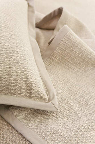 Zen Coverlet In Natural Beige Cottage Amp Bungalow