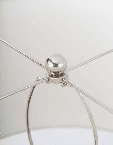 Presley Grey Table Lamp