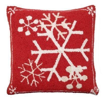 Snowflakes Christmas Pillow