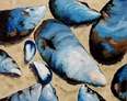 Blue Mussels Giclee