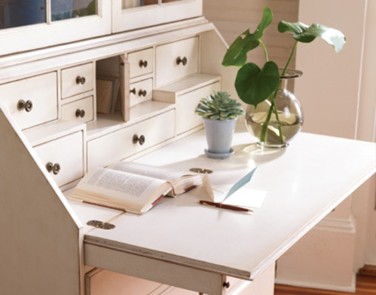 Monterey Bureau Bookcase and Secretary