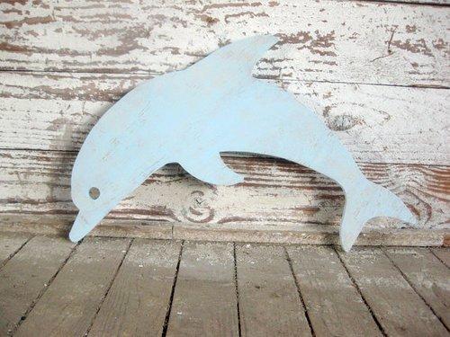 Dolphin Beach Sign