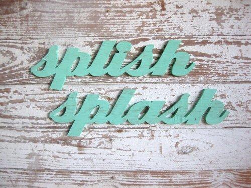 Splish Splash Beach Sign