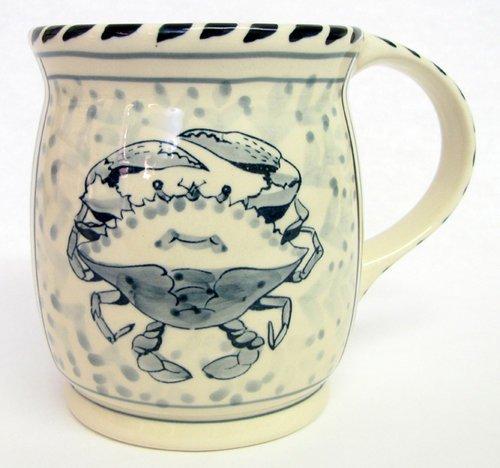 Blue Crab Mug - Set of 4