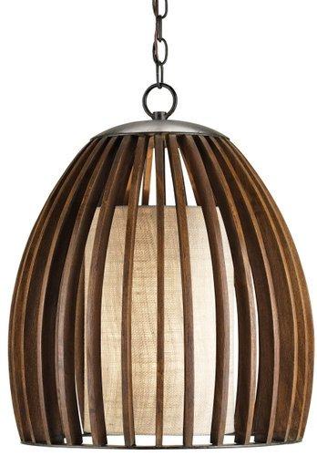 Carlin Fruitwood Pendant Light