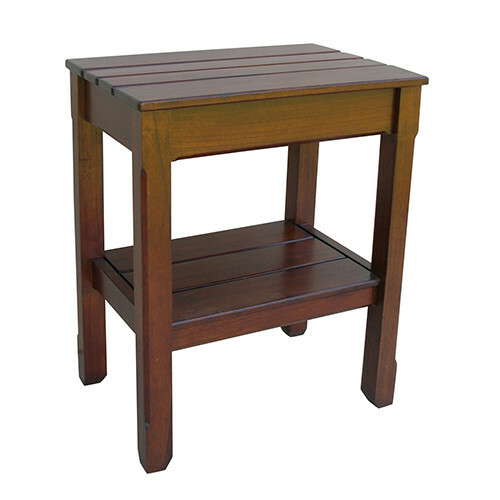 Cottage Plank Side Table <font color=a8bb35>Most Colors Stocked</font>