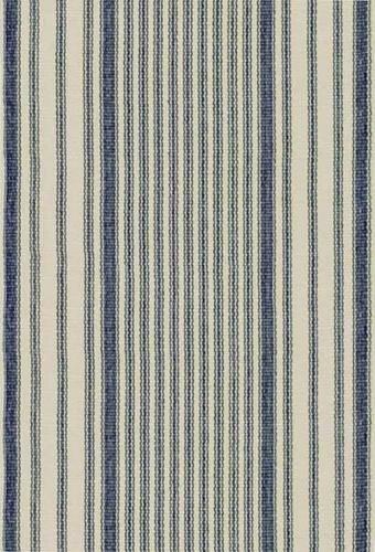 Dash and Albert Mattress Ticking Cotton Rug