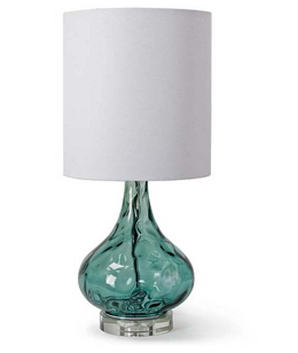 Peacock Blue Gem Lamp