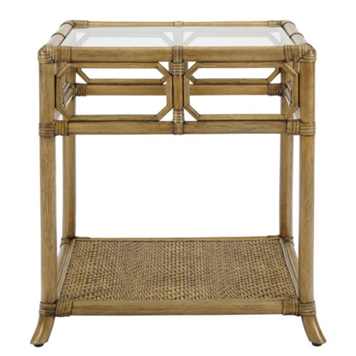 Regeant Rattan Side Table in Three Colors