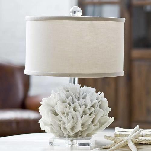 Ribbon Coral Lamp
