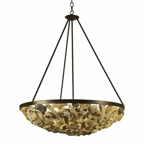 Savannah Shell Bowl Chandelier