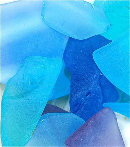 Sea Glass Blue Giclee