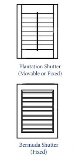 Straight Line Shutter Bed or Headboard