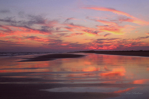 Sunset Color Giclee